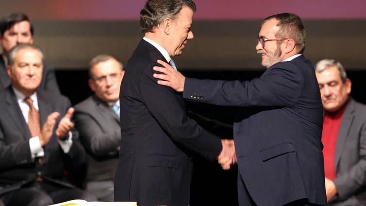 Kolumbiaan syntyi uusi rauhansopimus