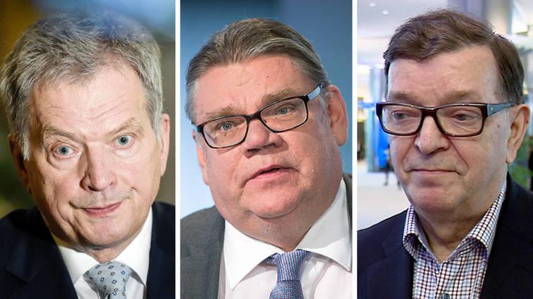 Ylen presidenttikysely: Sauli Niinistö ylivoimainen ykkönen, Soini ja Väyrynen inhotuimmat