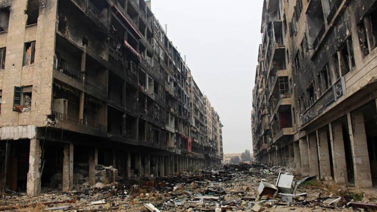 Aleppon pommitukset päättyneet