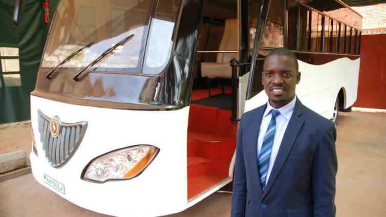 Tässä on Afrikan ensimmäinen sähköbussi