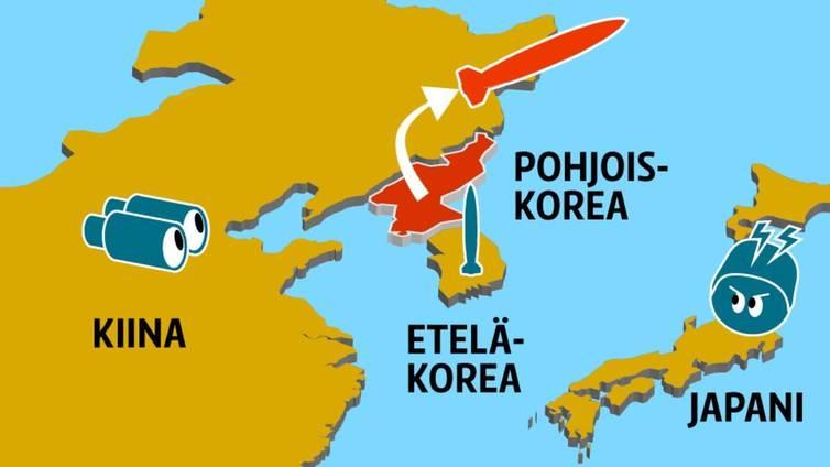 Pohjois-Korea uhittelee ohjuskokeillaan