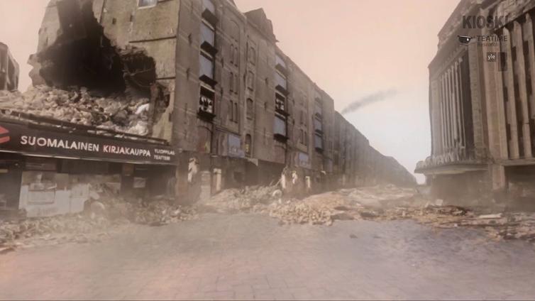 Entä jos Helsinki olisi kuin Aleppo?