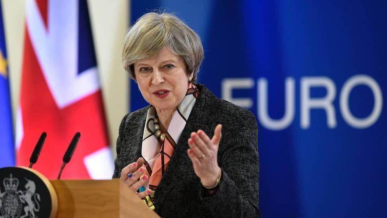 Britannian pääministeri May sai valtuudet käynnistää brexitin