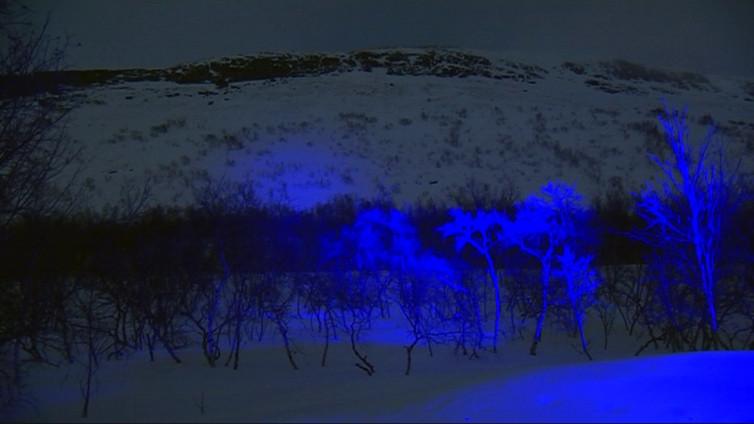 Saanasta tulee maailman suurin valotaideteos