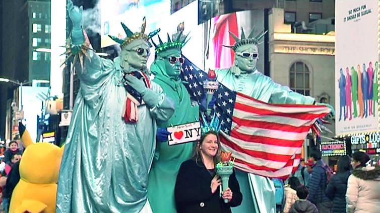 New York pelkää Trumpin karkoittavan turistit