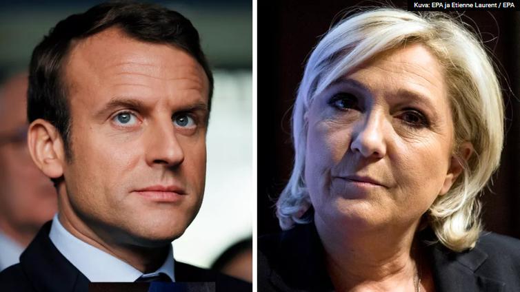 Ranskan tuleva presidentti on liberaali Macron tai maahanmuuttokriittinen Le Pen