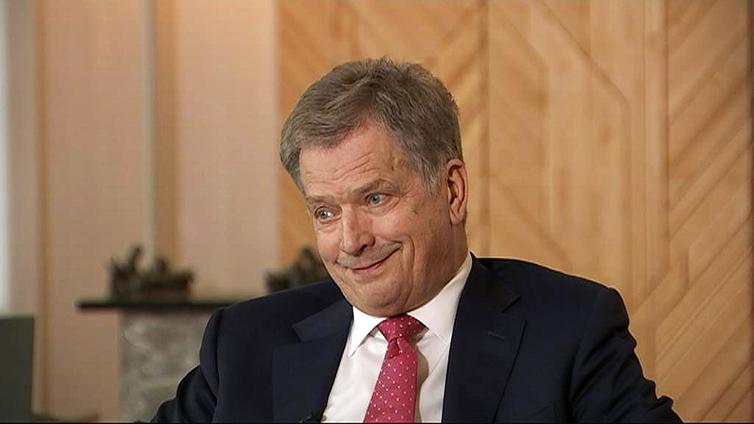 """Presidentti Niinistö: """"Iso joukko nuoria on onnellisia – se tekee minunkin päiväni onnelliseksi"""""""
