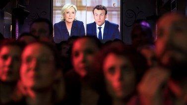 Macron päihitti Le Penin viimeisessä Ranskan vaaliväittelyssä
