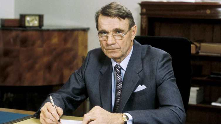 Presidentti Mauno Koivisto on kuollut