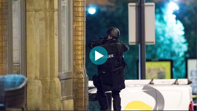 Pommi räjähti pop-konsertissa Manchesterissa