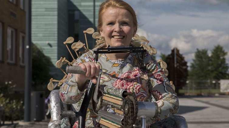 Vammaispoliittinen taide kiinnittää huomion vammaisten asemaan