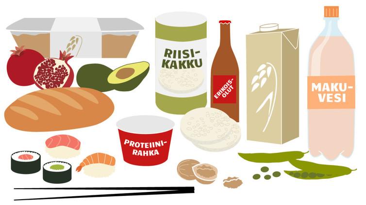 Suomalaiset syövät aiempaa terveellisemmin