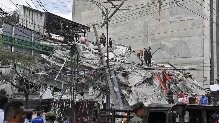 Meksikoa ravisteli tuhoisa maanjäristys