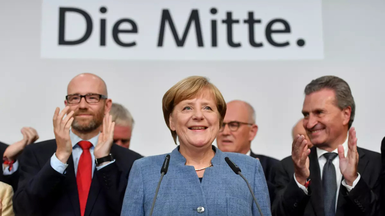 Angela Merkelin CDU voitti Saksan vaalit