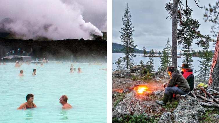 Suomi haluaa haastaa Islannin kukoistavan turismin