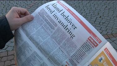 Maahanmuutto puhuttaa Ahvenanmaalla - moni kuuluttaa maakuntaan lisää työntekijöitä