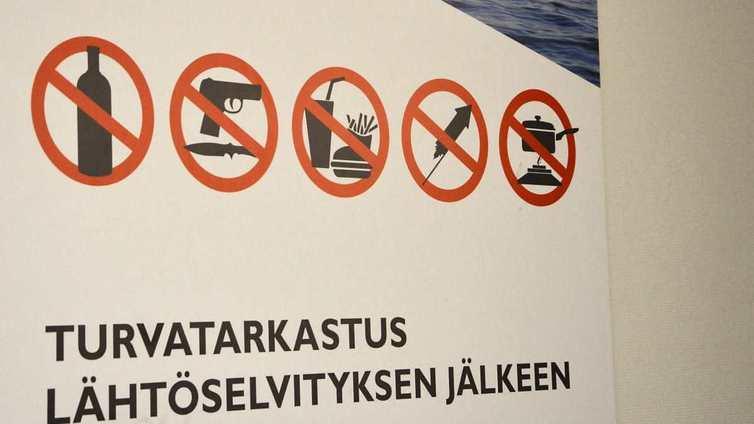 Laivayhtiöt ovat lisänneet turvatarkastuksia