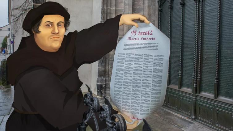 Martti Luther kahdessa minuutissa