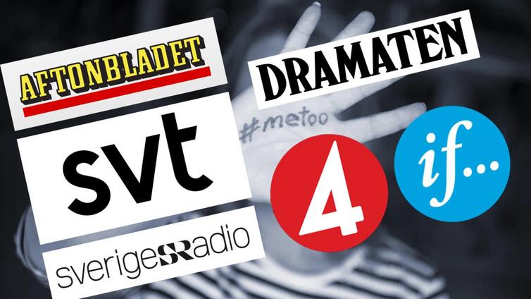 Moni ruotsalainen mediapersoona sai potkut häirintäkohun takia