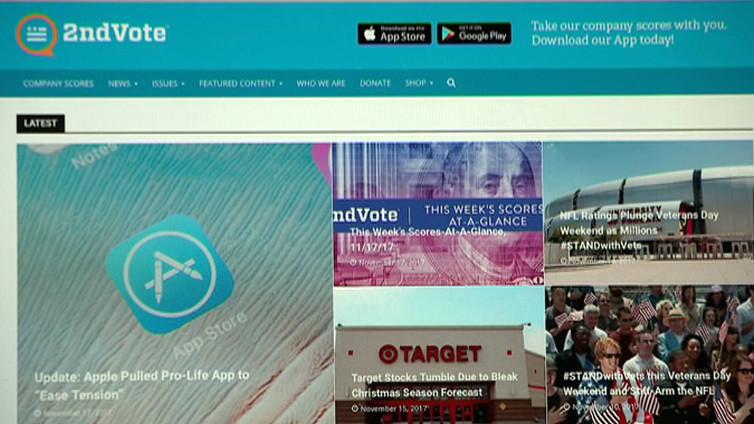 Konservatiivit ja liberaalit löytävät omia arvojaan tukevat kaupat mobiilisovelluksen avulla