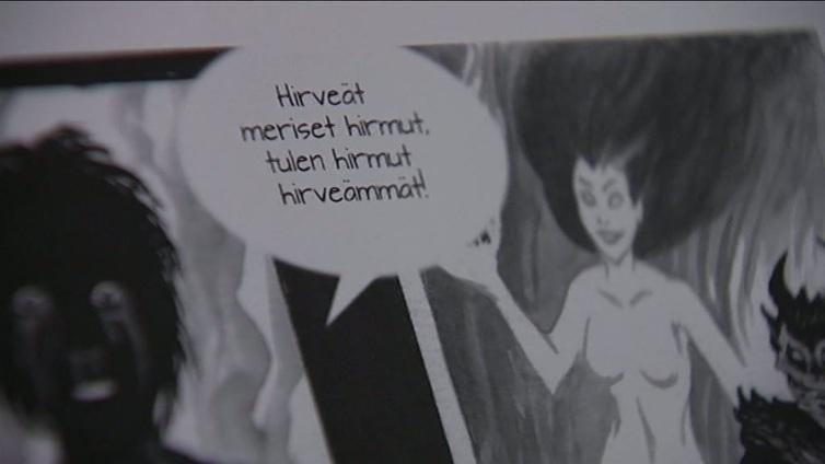 Eino Leinon Helkavirsiä taipui tummasävyiseksi sarjakuvaksi