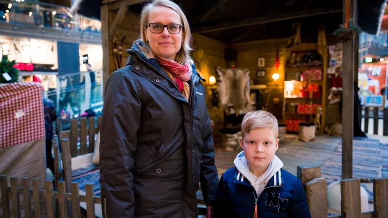 7-vuotias Niklas hankki joululahjan ikäiselleen tuntemattomalle pojalle