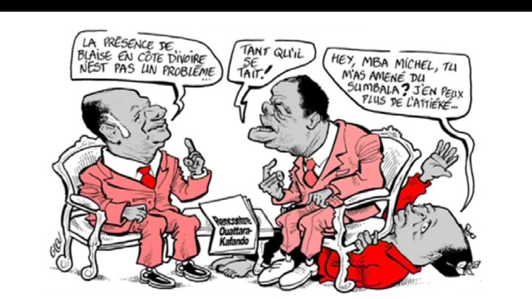 Poliitikoille irvailevat pilakuvat venyttävät sananvapauden rajoja Länsi-Afrikassa