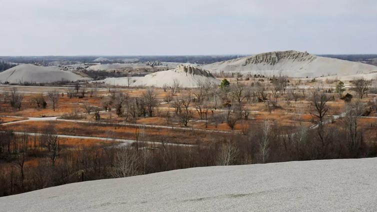 Kaivosyhtiöt jättivät jälkeensä valtavat jätekasat Oklahomassa