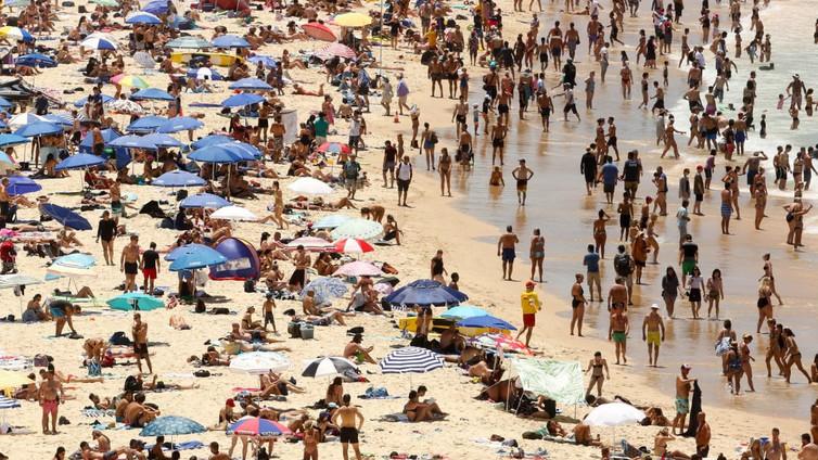 Australialaisten auringonpalvonta näkyy ihosyöpätilastoissa