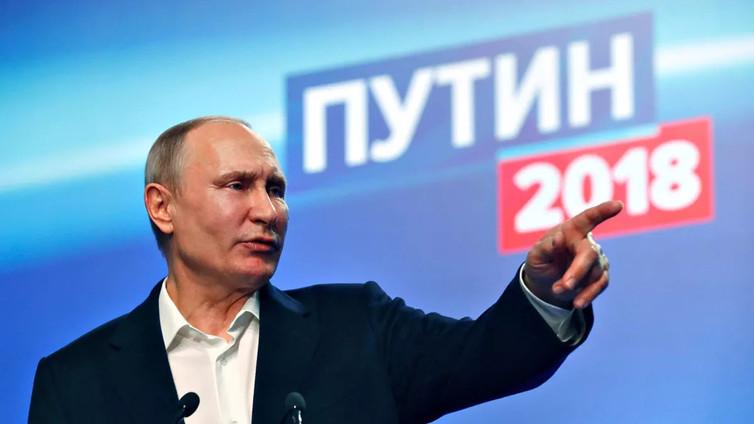 Putin murskavoitolla Venäjän presidentiksi