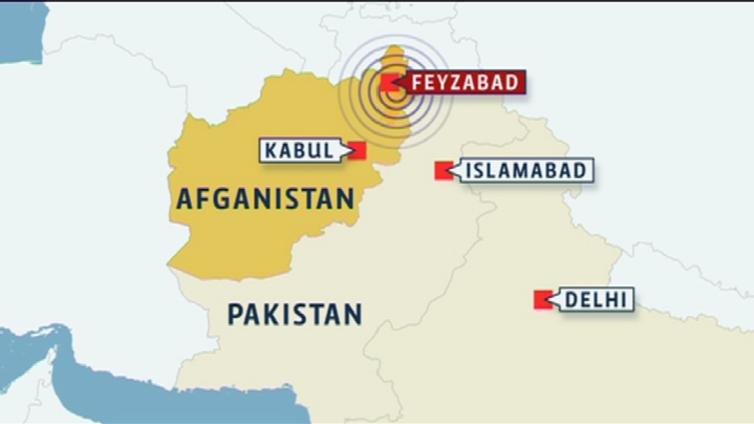 Afganistanin maanjäristys ravisteli taloja Intian Delhissä asti