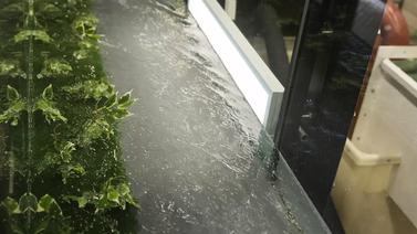 Aalto-yliopisto tutkii luonnonmukaisten vesiuomien rakentamista laboratorio-oloissa