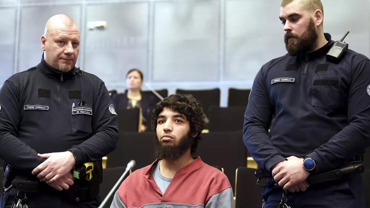 Turun puukotusten oikeuskäsittely alkoi Turun vankilassa