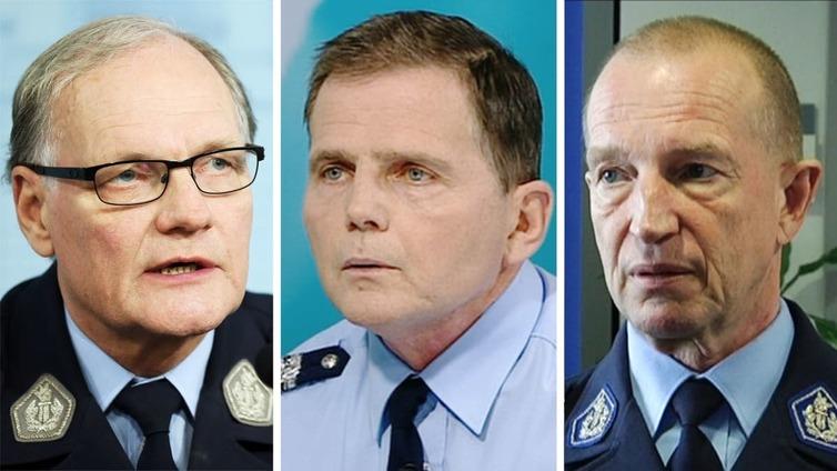 Kolmelle poliisijohtajalle syyte virkarikoksesta