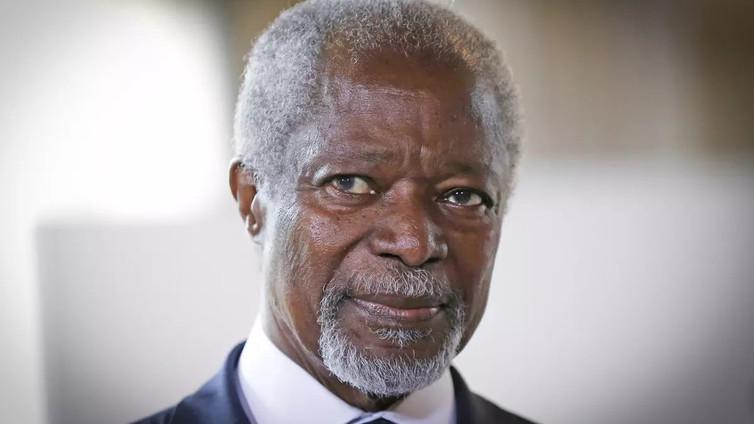 Rauhantekijä Kofi Annan on kuollut