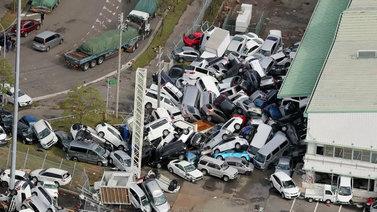 Jebi-taifuuni riepotteli Japania