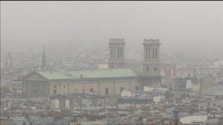 Pariisin saasteluvut ovat huipussaan YK:n ilmastokokouksen alla