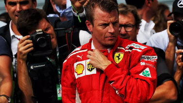 Kimi Räikkönen siirtyy ensi kaudeksi Sauber-talliin