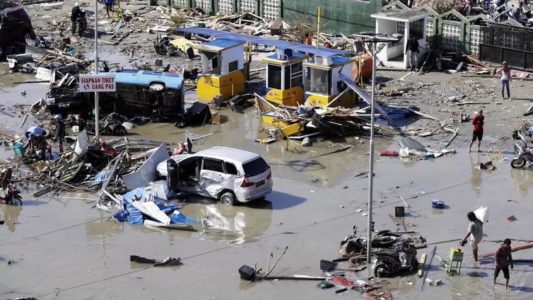 Indonesian maanjäristyksessä ja tsunamissa jo yli 800 kuolonuhria