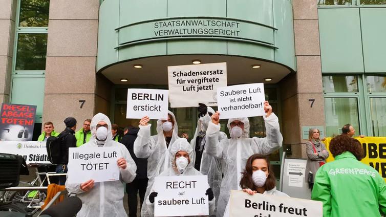 Berliinistä kitketään diesel-päästöjä kieltämällä vanhat autot