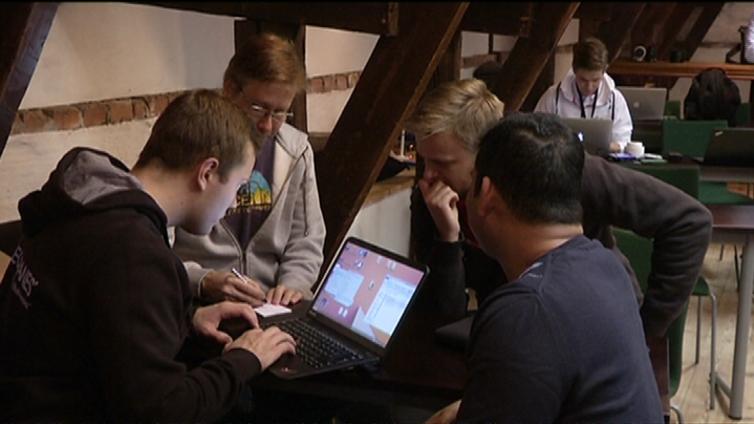 Hackathon on esimakua kasvuyritysten Slush-tapahtumasta