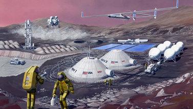 Nasan InSight-luotain saapui Marsiin