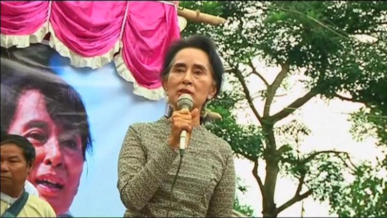 Myanmarin vaalivoittaja on voittanut ennenkin - tällä kertaa kilpailija tunnusti tappionsa