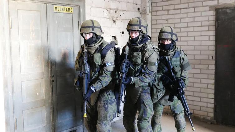 Nuorten aikuisten maanpuolustustahto on laskenut