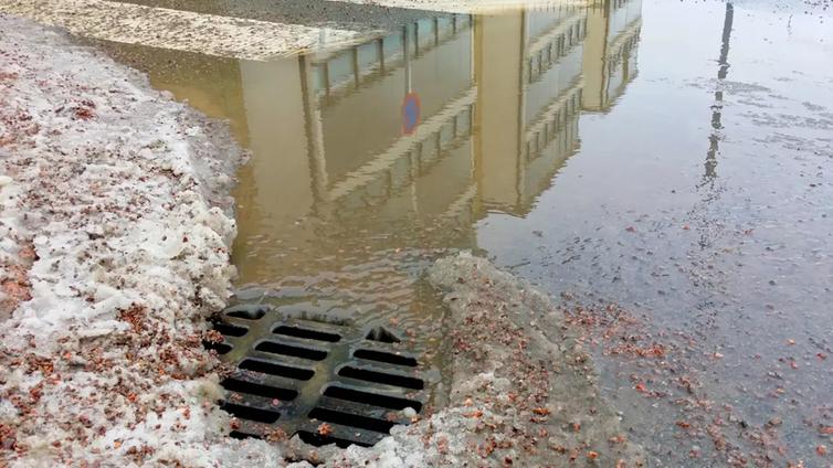Sademäärien kasvu aiheuttaa ongelmia kaupunkien keskustoissa