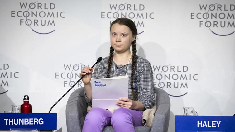 """Greta Thunberg: """"Kaikki puolueet Ruotsissa ovat epäonnistuneet ilmastokysymysten ratkaisuissa"""""""