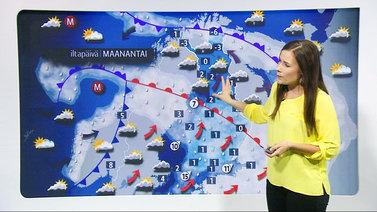 Tv:n meteorologi on ollut 50 vuotta Suomen kotien vakiovieras