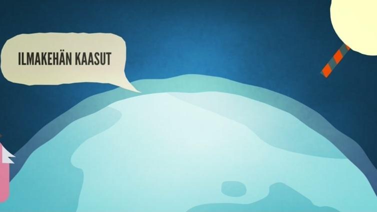 Tästä ilmastonmuutoksessa on kyse - katso animaatio