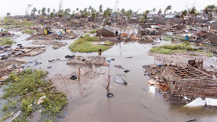 Sykloni runteli Mosambikia - tulvavedet nousevat edelleen