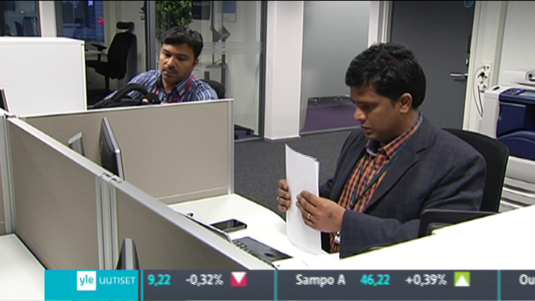 Suomalaisyhtiön tietotekniikkaa pyörittää usein intialainen yritys